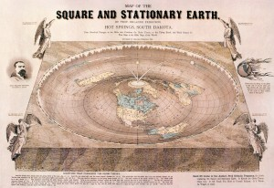 The Square & Stationary Earth